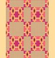 cloth kentegeometric seamless pattern vector image