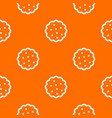 cookies pattern seamless vector image vector image