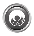 donut design vector image