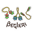 fidget spinner begleri vector image vector image