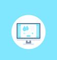 humidity control app software icon vector image vector image