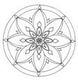 Mandala 3 image vector image
