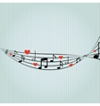 music pattern design vector image