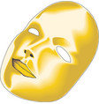 theatre mask eps 10 vector image vector image