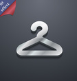 Hanger icon symbol 3D style Trendy modern design vector image