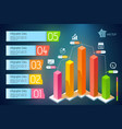 Infographic business concept