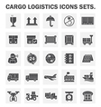 Logistic vector image vector image