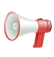 loud speaker megaphone loudspeaker voice amplifier vector image