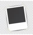 Retro blank photography vector image vector image