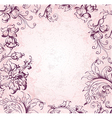 victorian background vector image vector image