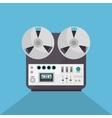 music record device icon vector image