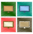 assembly flat shading style icon computer monitor vector image vector image