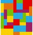 Block Seamless Pattern vector image vector image