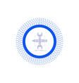 build design develop sketch tools glyph icon vector image vector image