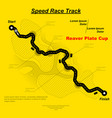 eaglesong highway speed track vector image vector image