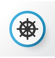 handwheel icon symbol premium quality isolated vector image