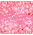 light hearts calligraphy vector image vector image
