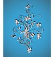 Ornament floral vintage vector image