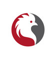 rooster icon vector image vector image
