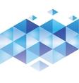 Abstract 3d geometricbroken glass lines modern vector image vector image