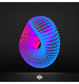 Abstract Polygonal Futuristic Design vector image vector image