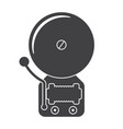 alarm bell icon vector image