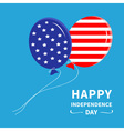 Ballon Happy Independence Day vector image vector image
