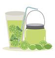 delicious drink vector image