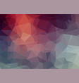 grunge background with triangle shapes for your vector image vector image