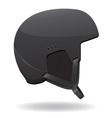 helmet for snowboarding vector image vector image