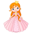 Little princess vector image