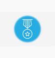 medal icon sign symbol vector image vector image