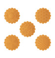 mooncake for mid autumn festival vector image vector image