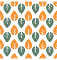 seamless colorful foliage pattern baleaf vector image
