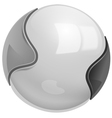 sphere vector image vector image