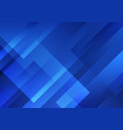abstract blue geometric shape overlay layer vector image vector image