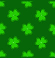 background of clover on a white vector image vector image
