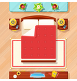 Bedroom Design vector image vector image