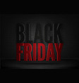 black friday mystic banner template mystic vector image