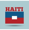 haiti country flag vector image vector image
