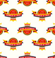 made in Germany banner seamless pattern vector image