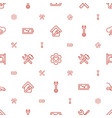 maintenance icons pattern seamless white vector image vector image