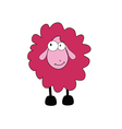 sheep cartoon part two vector image vector image