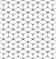 Abstract geometric seamless pattern Over white vector image vector image