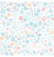 circle watercolor pastel seamless pattern vector image vector image