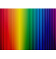 color rainbow stripes background with shadow vector image vector image