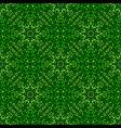 green oriental bohemian seamless gem stone petal vector image vector image