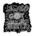 off road hand drawn-05 vector image