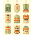 tag price vector image