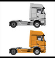truck tractor unit vector image vector image